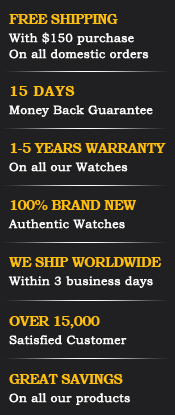 15 days money back guarantee, 1 to 5 years warranty, 100% brand new, We ship worldwide
