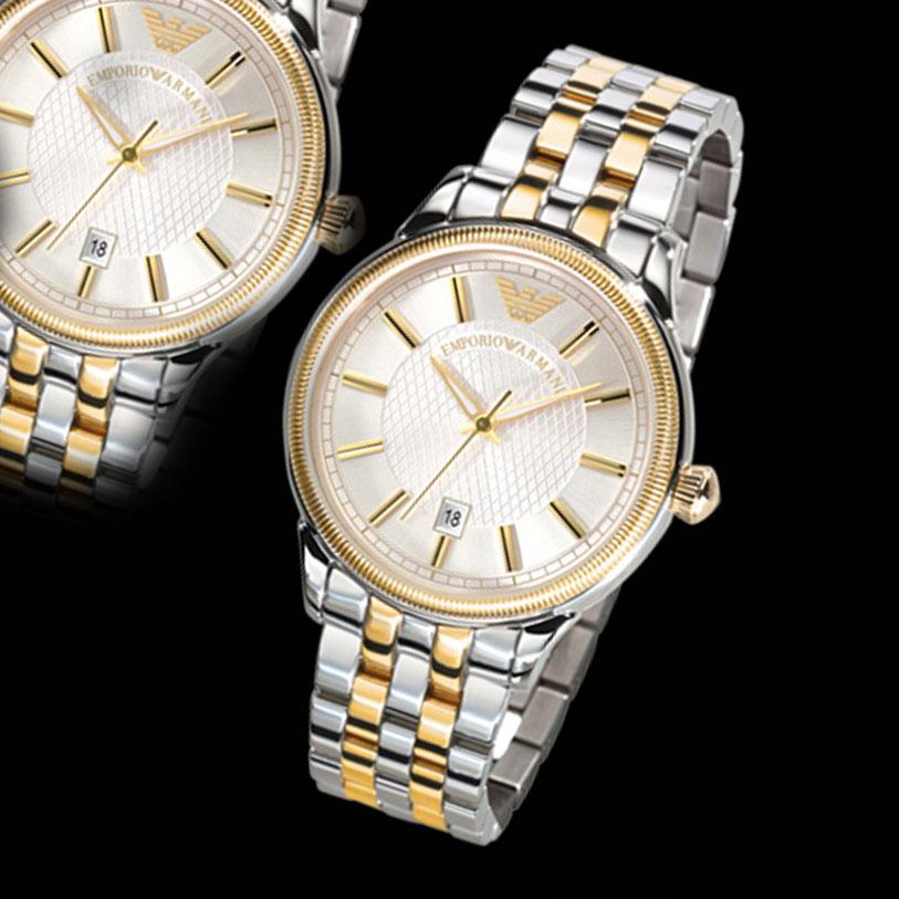 Diamond Armani Watch