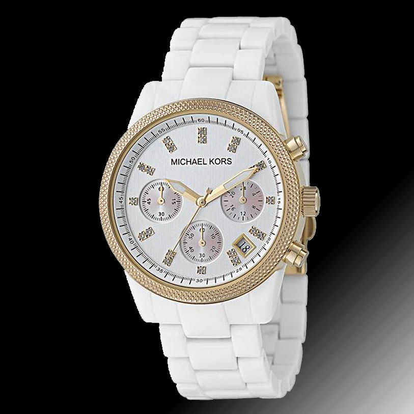 white watches for michael kors mkors