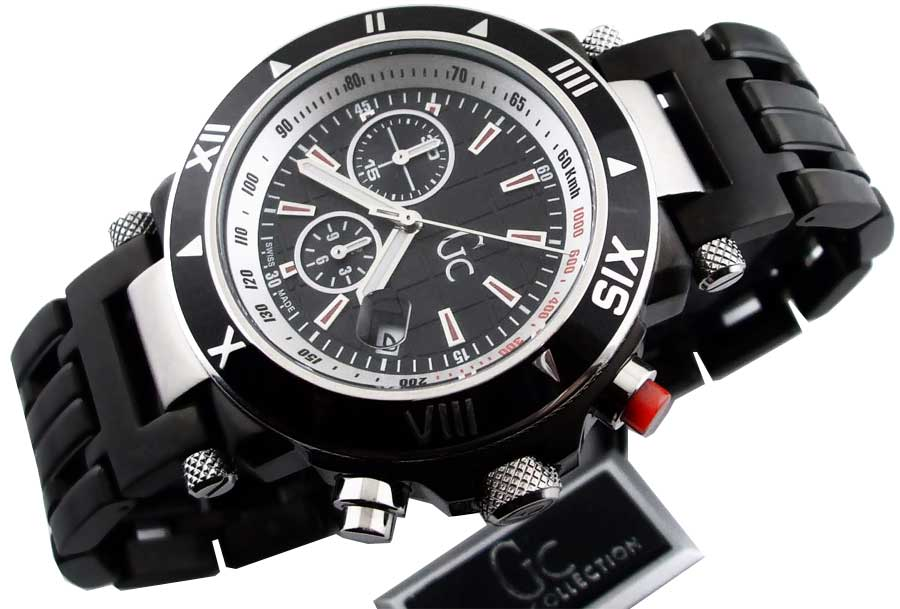 new authentic guess collection watch gc46000g