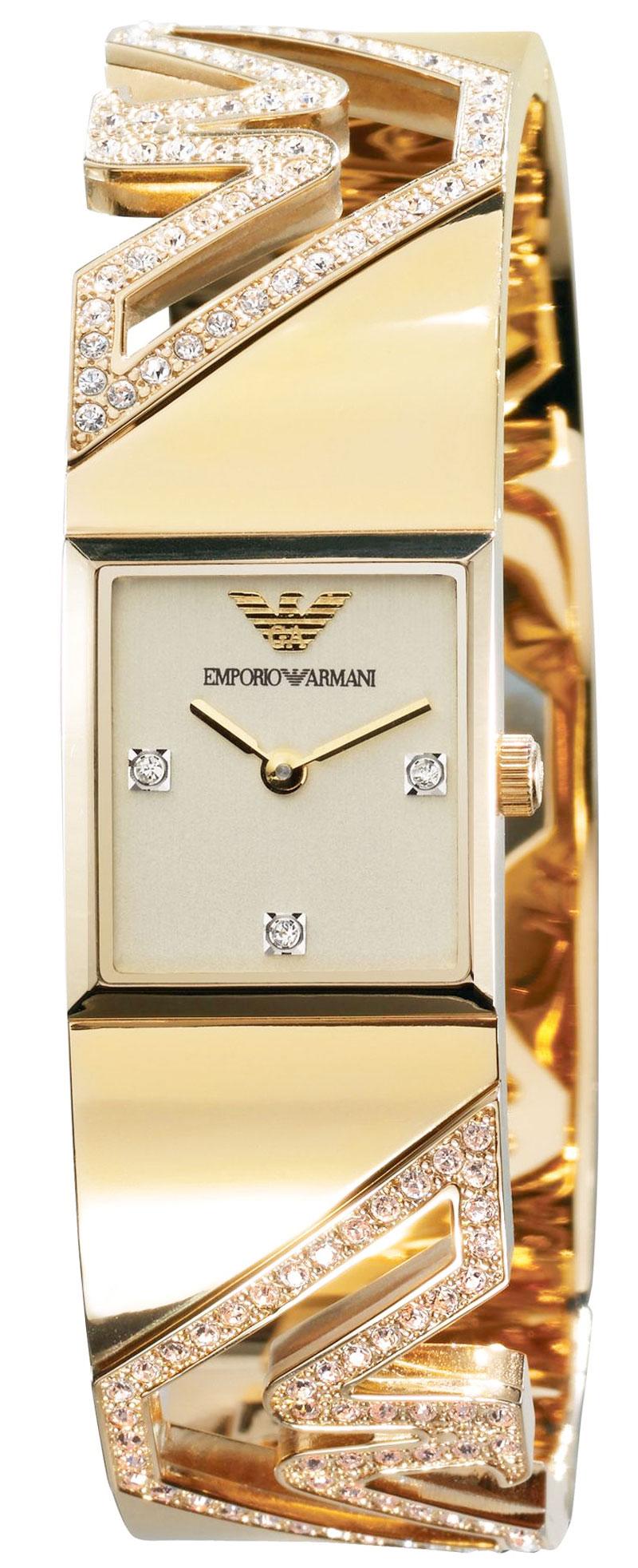 Emporio Armani Diamond Watch