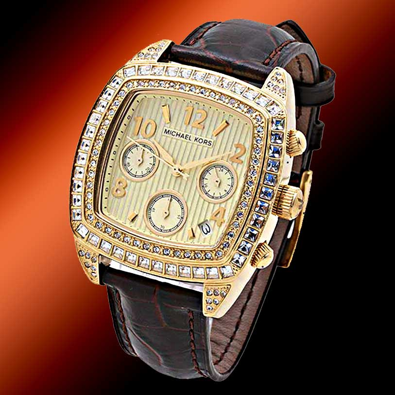 michael kors watches michael kors diamond watches michael kors michael kors chrono swarovski gold leather watch mk5106