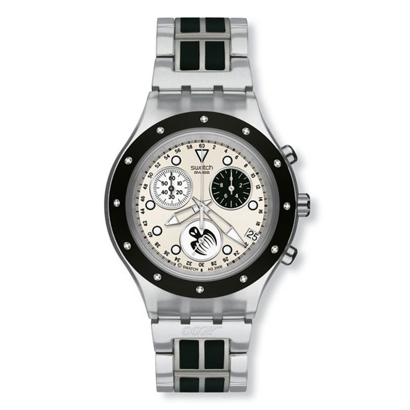 1be5f823201 Swatch Full Blooded White Unisex Chronograph Watch SVCK4039G Relógios